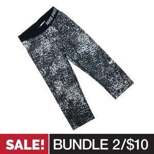 2/$10 • Nike Pro Cropped Leggings